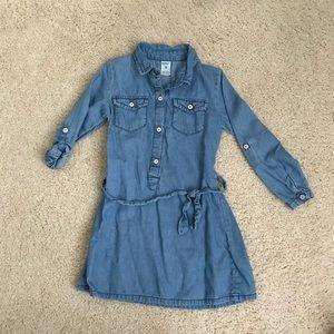 Carter's girl's denim dress size 4